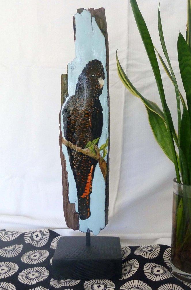 Orange tailed Cockatoo
